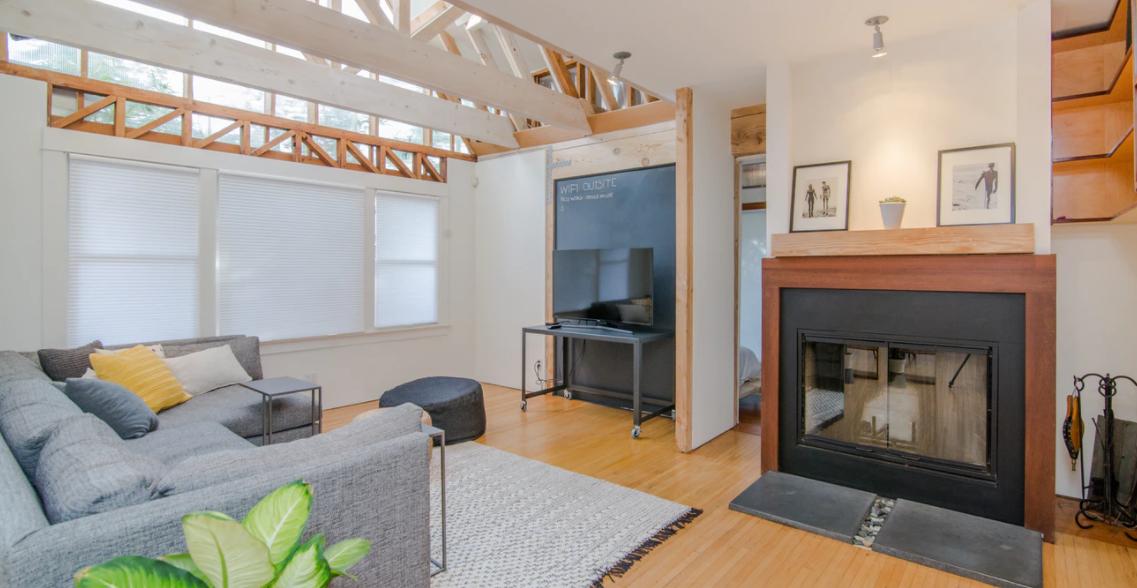 Eine schön eingerichtete Wohnung